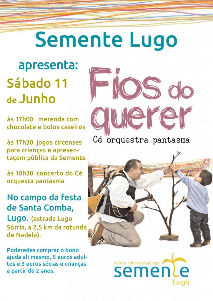 cartaz ce orquestra Santa Comba